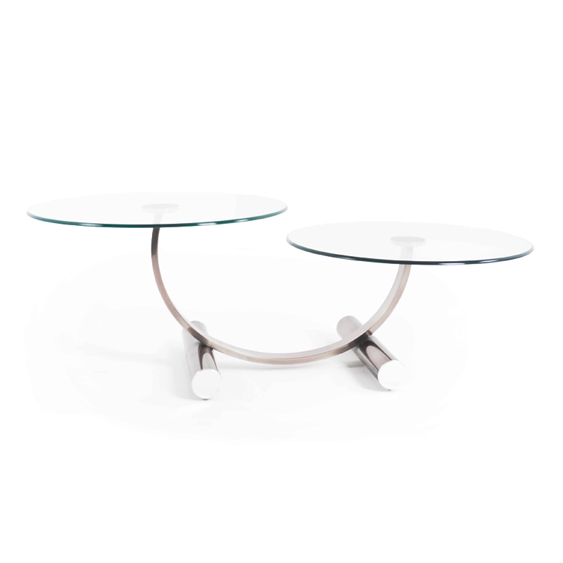 Contemporary glass top coffee table istage homes for Contemporary glass top coffee table