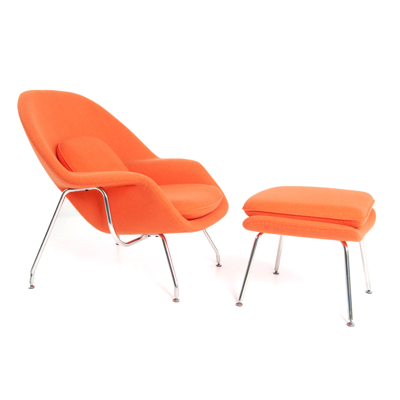 Chair On Stage Orange Womb Style Chair Istage Homes Mmd