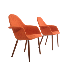 Orange-Tweed-Side-Chairs-3