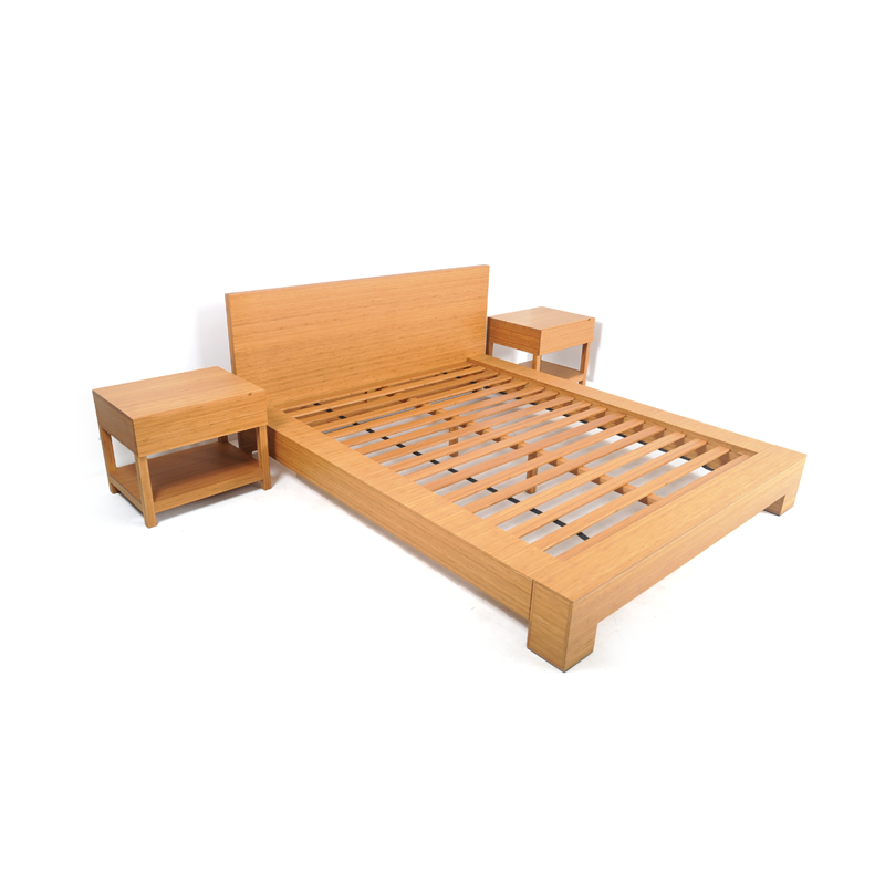 bamboo bedroom set istage homes