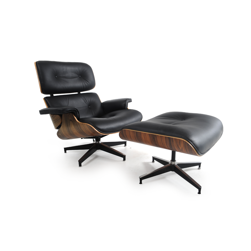 Herman miller style lounge chair and ottoman istage homes - Herman miller lounge chair and ottoman ...