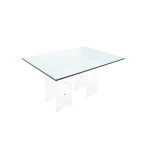 lucite-dining-table
