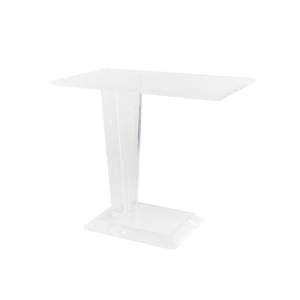 lucite-side-table