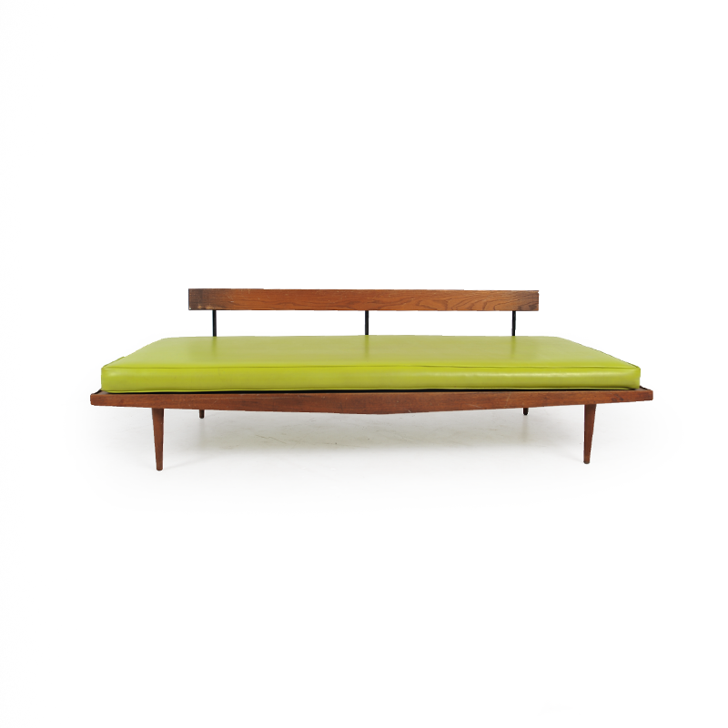 ... danish-teak-daybed-green-2 ... - Teak Day Bed - IStage Homes
