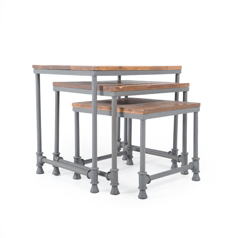 Industrial Nesting Side Table 2 ...