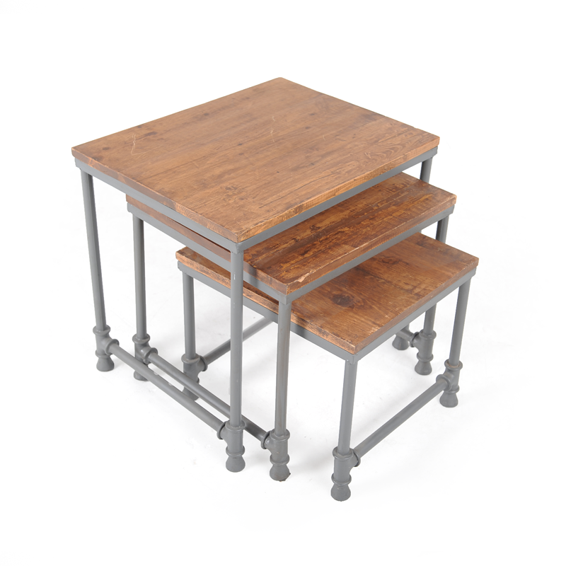 Industrial nesting tables iStage Homes : industrial nesting side table 4 from istagefloridahomes.com size 800 x 800 png 375kB