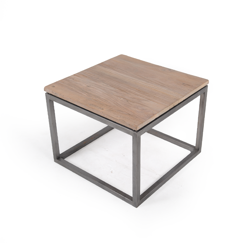 Industrial Square Side Table Istage Homes