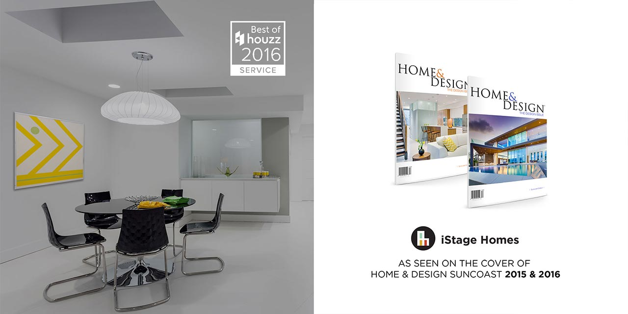 iStage Homes Social Proof & Magazine Covers