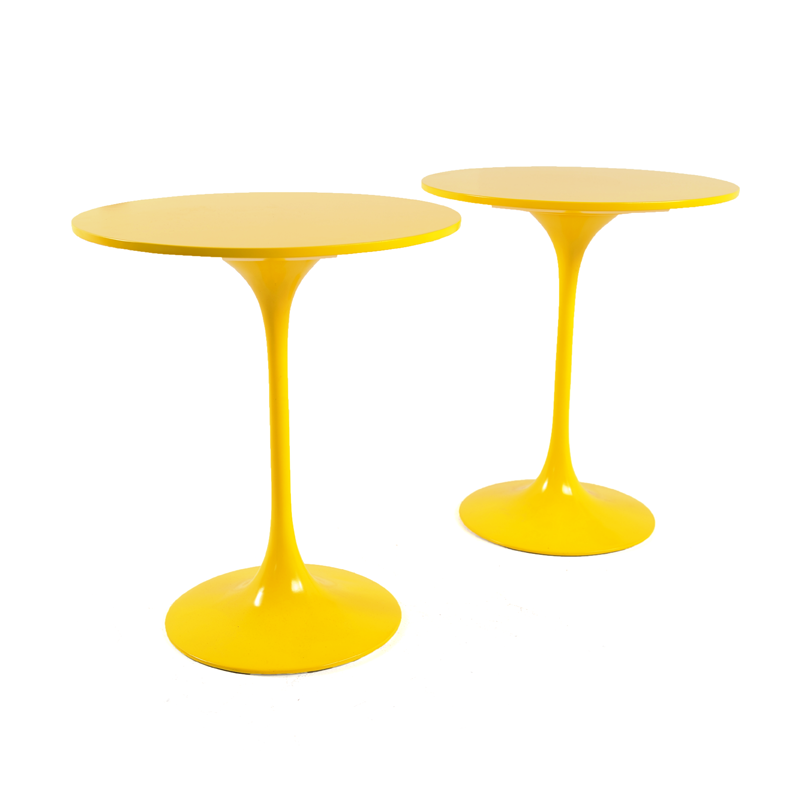 End Tables U2013 Yellow Tulip Base