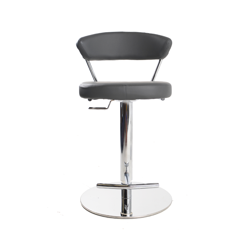 Grey Adjustable Barstools