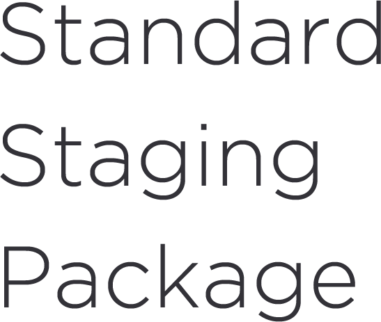 Standard Home Staging Package